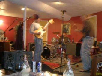 Picture of the Occasional Banister, a Baltimore Maryland based original music quartet